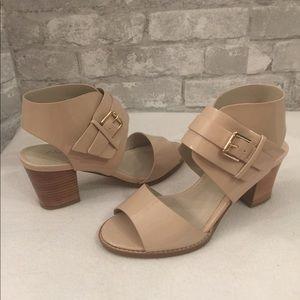 Aldo nude patent heels